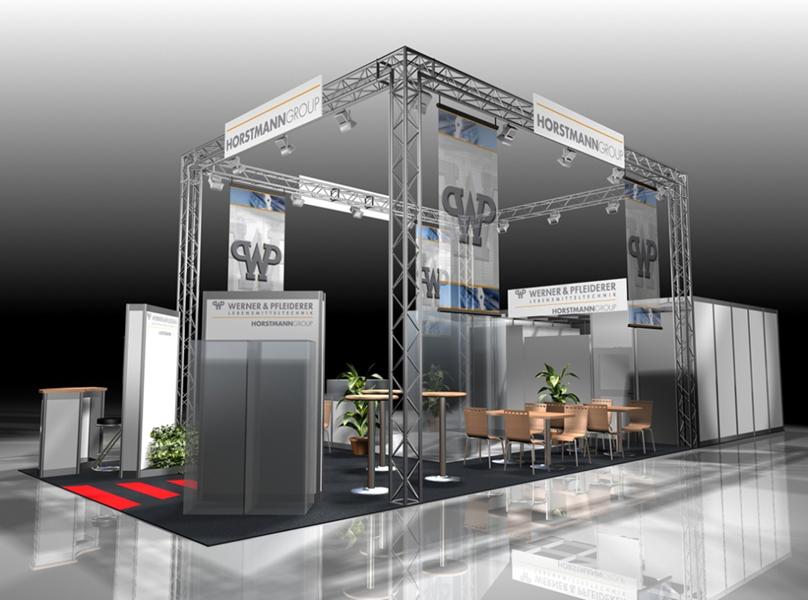 Используйте графическое изображение стенда в анонсах участия в выставке